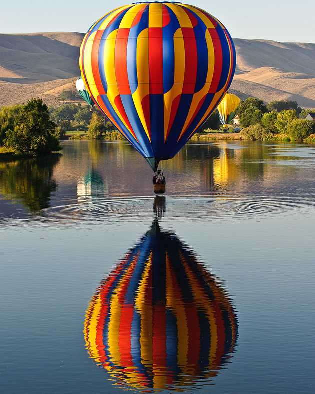 Balloon and Ripples